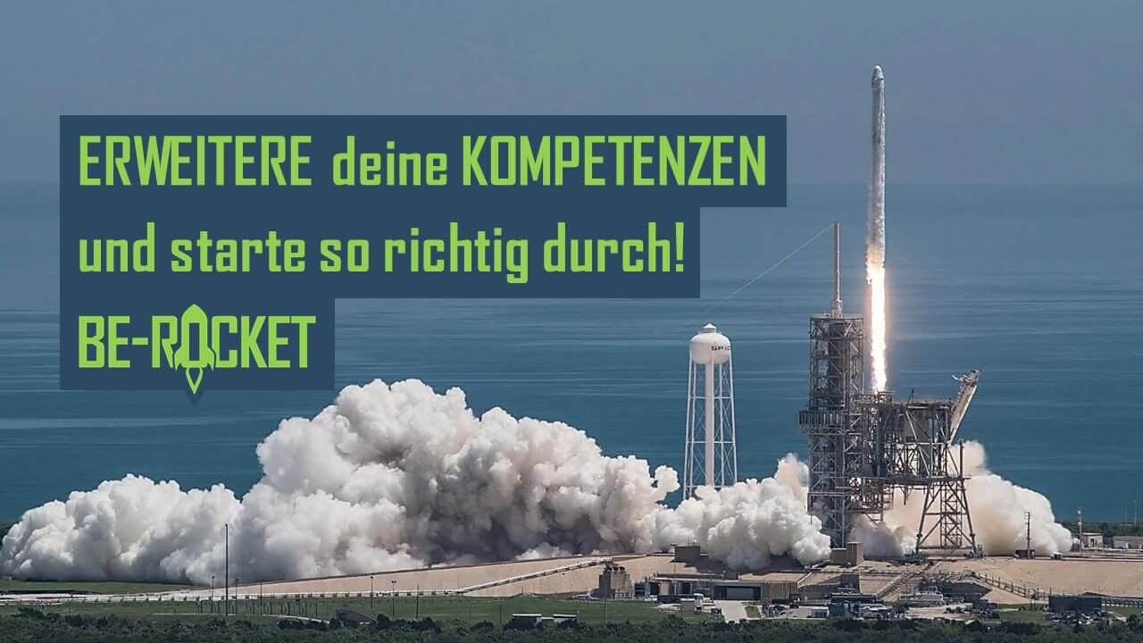 Be Rocket Slider Bild - Erweitere deine Kompetenzen