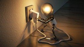 Proaktivität - Effektivität - Leben selbst in die Hand nehmen - Glühbirne