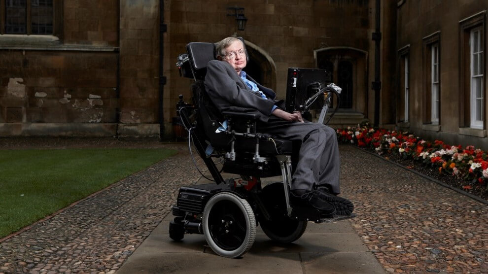Stephen Hawking - Biografie - Motivation - Nie Aufgeben